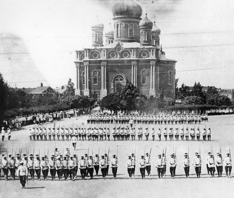 Suomenlinnan ortodoksinen varuskuntakirkko venäläisellä aikakaudella.